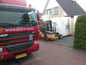 Transport opslag Apeldoorn